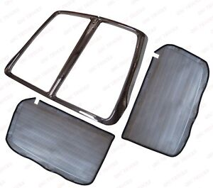 QSC Grille Frame w/ Aluminum Bug Mesh Net for Kenworth T660 L29-1053-100