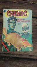 "VTG 1969 MEXICAN COMIC CHANOC # 532 ""EL ORNITORRINCO"" ED. HERRERIAS"