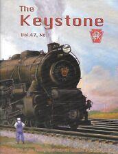 Keystone PRR V47 1 2014 Amtrak Pennsy Pike France Pullman Horsehoe Curve Staufer