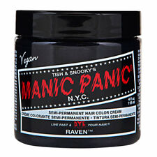 Raven Black Manic Panic Vegan 4 Oz Hair Dye Color