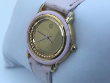 GIORDANO Women Watch Pink Genuine Leather Band Unique Wrist Watch Japan Movement