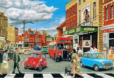 Morris Austin Mini Bmw Isetta Burbuja coche Bristol Bus 1960 Cine Tarjeta De Cumpleaños