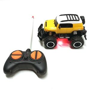 Toy RC 4x4 Remote Control Car 15cm Off Road Truck WORKS GREAT