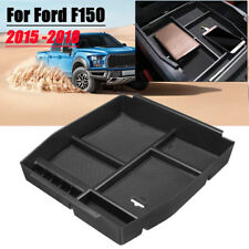 Car Center Console Armrest Storage Box Holder Tray For Ford F150 F-150 2015-2018