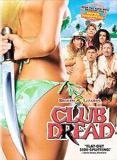 Club Dread (DVD, 2009, Rated Dual Side)