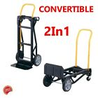 Two Wheel Dolly Moving Appliance Hand Truck Push Cart Best Convertible Furniture photo
