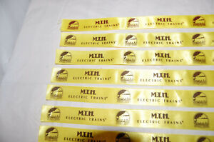 **NEW Original** Two (2) MTH Train Premier and Rail King Packaging Box Ribbons