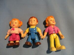 F.P. LOVING FAMILY DOLLHOUSE SET OF 3 TODDLERS GIRLS/BOY COLLECTORS / RESALE