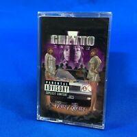 SEALED Ghetto Twiinz – No Pain No Gain Cassette Tape Album 1998 Scarface Mia X