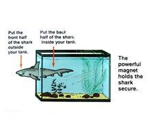 f The Magic Shark Magnetic Aquarium Ornament Creates illusion going through tank