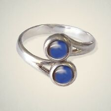 September (Sapphire) Birthstone Ring By Art Pewter - MADE IN SCOTLAND