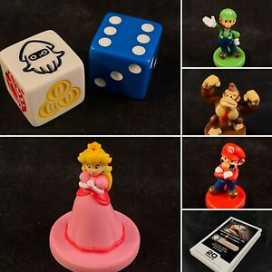 Monopoly Gamer Mario Kart Replacement Pieces Game Coins, Mini Figures, Cards