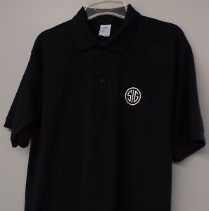 Sig Sauer Firearms SIG Logo Mens Embroidered Polo XS-6XL, LT-4XLT Gun Rights New