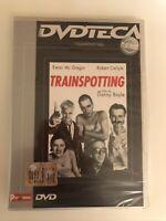 TRAINSPOTTING DVD NUOVO SIGILLATO DANNY BOYLE CARLYLE EWAN MCGREGOR CULT