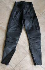B4 Bottines Femme BELSTAFF Cuir Noir Moto Pantalon, UK 10