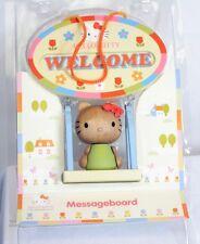 Hello Kitty Wooden Hanging Message Door Sign