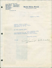 DAVID I. WALSH - TYPED LETTER SIGNED 08/03/1945