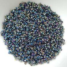 11/o Miyuki Seed Beads Cooperative Color Magic Blue 25g