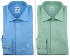 Mens Shirt Olymp Tendenz Modern Regular Fit Textured 100% Cotton Long Sleeve