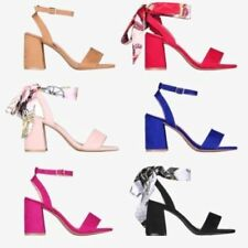 High (3 in. to 4.5 in.) Block Heel Casual Strappy Heels for Women