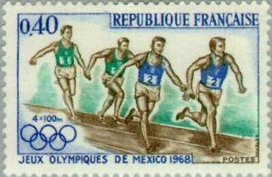 EBS France 1968 Summer Olympics Mexico City YT1573 MNH**