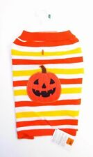 Martha Stewart Dog Halloween Pumpkin Face Sweater Costume SZ L New With Tags