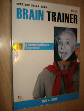 DVD + LIBRO N°18 LA MENTE IN PALESTRA-L´ENIGMISTICA BRAIN TRAINER FOCUS