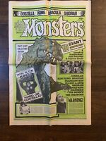 Horror Magazine/Newspaper The Monster Times 1st Giant Edition Godzilla Kong