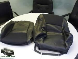 SAAB 9-5 (98>04) Front Seat Base & Back Covers, Used Genuine Part