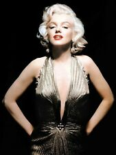 Marilyn Monroe Gold Dress 18X24 POSTER FREE SHIPPING