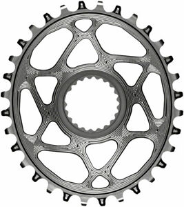 Oval Direct Mount Chainring for Shimano M9100 and Hyperglide+ - absoluteBLACK