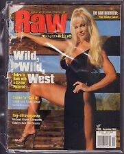 WWF Raw Magazine December 2000 Debra Gd 042516DBE