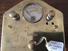 Vintage Lucas F15 Switch Panel, 1923,