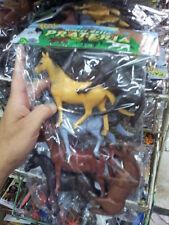 kit gioco animali piccoli cavalli animal toy  giocattolo plastica