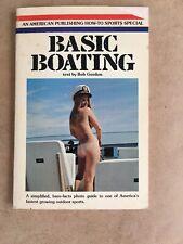 Vintage Basic Boating Bob Gordon - 1972 Basic Skills Book Nude Photos