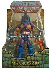 Man-E-Faces Erstauflage 1st  Masters of the Universe Classics He-Man MOC NEU