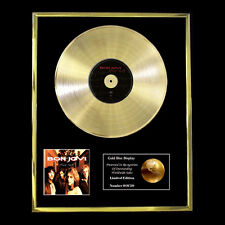 BON JOVI THESE DAYS CD GOLD DISC FREE P&P!