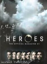 HEROES OFFICIAL MAGAZINE - VARIANT COVER # 1A - FIRST COLLECTOR ISSUE