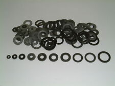 50 Assorted Rubber Washers M2/M3/M4/M5/M6/M8/M10/M12/M14 and M16