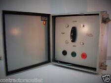 """New Overstock A1212CH NEMA 12, 13 Steel J Box w/ Rotary Switch - 12""""x12""""x6"""""""