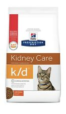 Hill's K/D Kidney Care W/Chicken Dry Cat Food 4-lb bag