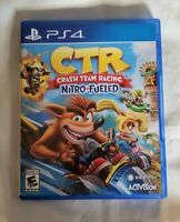 CTR: Crash Team Racing: Nitro-Fueled PlayStation 4 (PS4) Great Condition