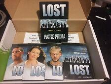 LOST 04 DVD 1° stagione PARTE PRIMA i primi 12 episodi italiano inglese spagnolo