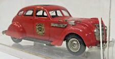 Rextoys #24 1935 CHRYSLER AIR FLOW FIRE BRIGADE 1:43 diecast Boxed n1