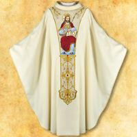Casula Casula con cintura 'Gesù Cristo Re'