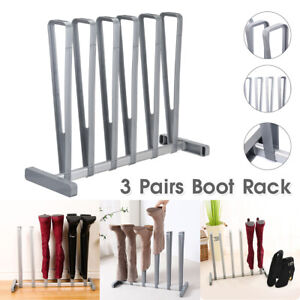 3 Pars Boot Rack Shoe Storage Organzer Shoes Standng Holder Hanger