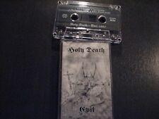 HOLY DEATH - Evil MC Rare MOONBLOOD BARATHRUM BATHORY HELLHAMMER MEGIDDO BEHERIT