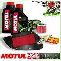 Oil Replacemenet Kit MOTUL 5000 + Filter Candle Kymco Downtown I ABS E4 350 2015