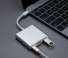 USB 3.1 Type-C to USB 3.0 HUB 4K HDMI OTG Adapter Cable & USB-C Charging Port