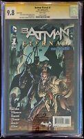 Batman Eternal #1 Andy Kubert Variant CGC 9.8 Signed by Scott Snyder!